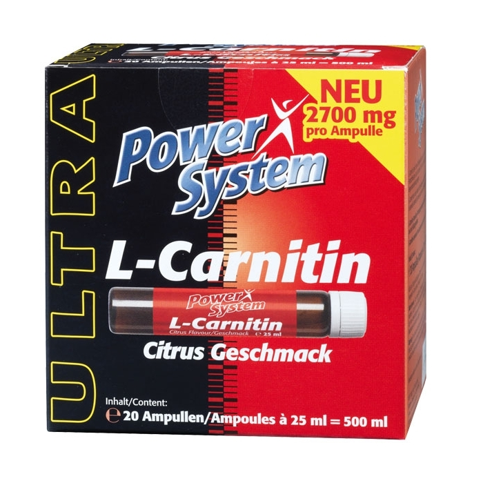 Power System L-Carnitin Fire