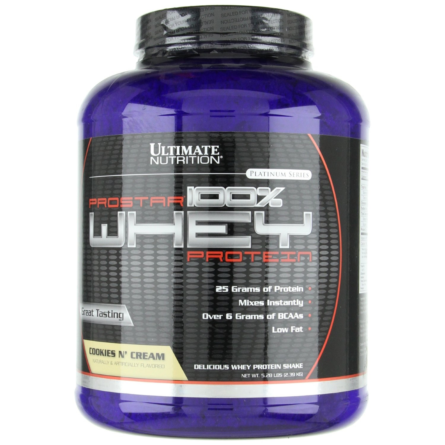 Ultimate Nutrition - 100% Prostar Whey Protein 2,39