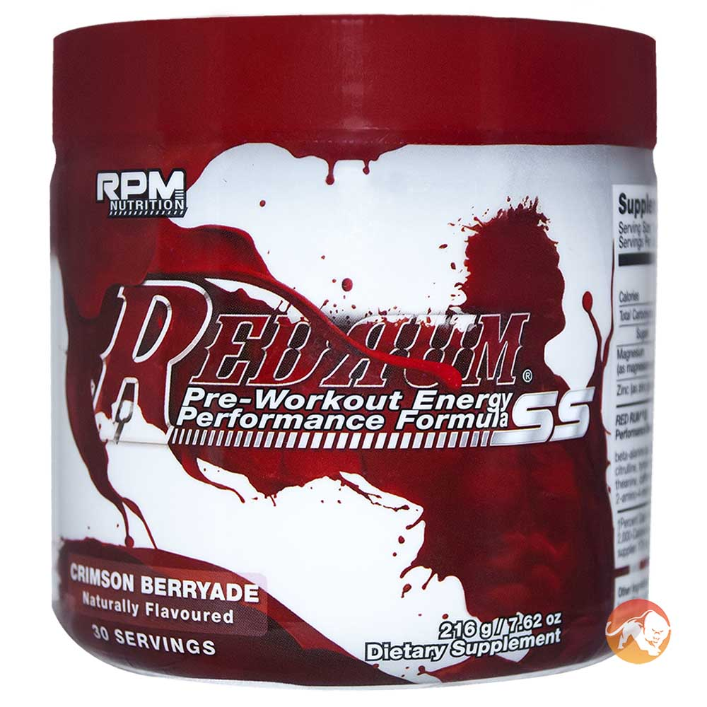 RPM Nutrition Red Rum
