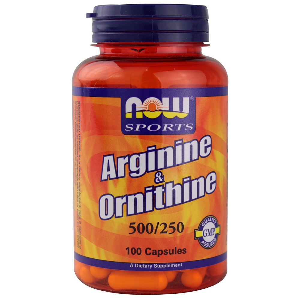 NOW Arginine Ornithine 100