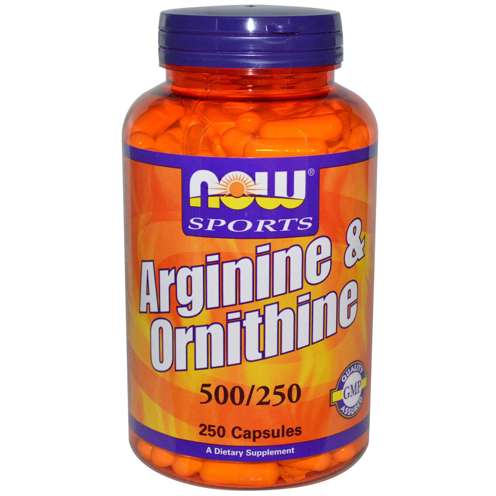 NOW Arginine Ornithine
