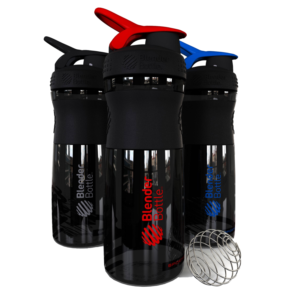 BlenderBottle SportMixer черный